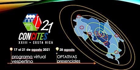 XXIII CONCITES, Congreso Nacional de Ciencia, Tecnología y Sociedad 2021 entradas
