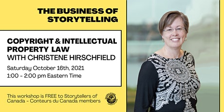 Copyright and Intellectual Property Law with Christene Hirschfeld tickets