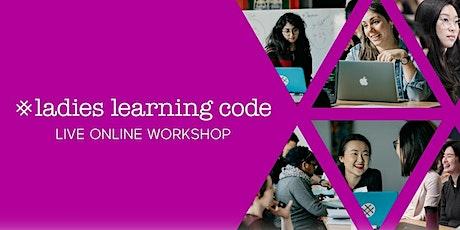 Live Online LLC: Webmaking w/ HTML & CSS Pt. 1 (18+) - Edmonton (2hrs) tickets