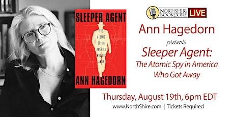 """Northshire Live: Ann Hagedorn """"Sleeper Agent"""" tickets"""