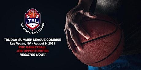 THE BASKETBALL LEAGUE 2021 SUMMER LEAGUE COMBINE/Las Vegas, NV tickets