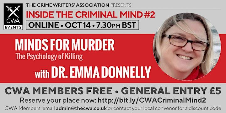 Minds for Murder: Psychology of Killing image