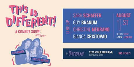 This Is Different! A Comedy Show tickets