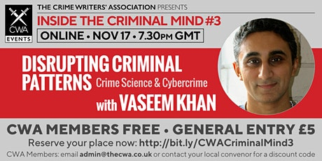 Disrupting Criminal Patterns - Crime Science and Cybercrime tickets