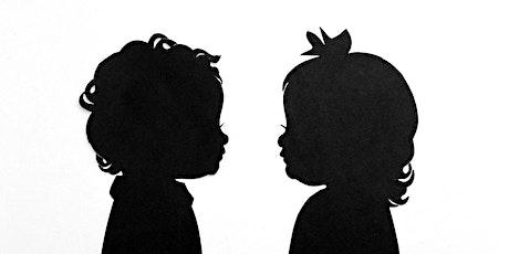 Caline for Kids- Hosting Silhouette Artist, Erik Johnson- $30 Silhouettes tickets