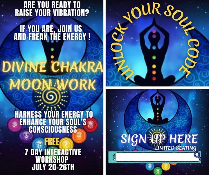 Divine Chakra Moon Workshop image