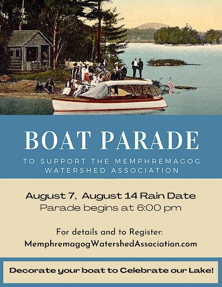 Memphremagog Boat Parade to Support MWA image
