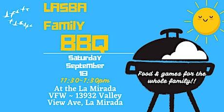 LASBA Family BBQ tickets