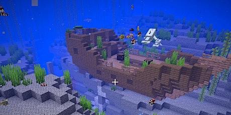 Zusatztermin Minecraft: Versunken auf dem Meeresgrund - Unterwasserstadt Tickets