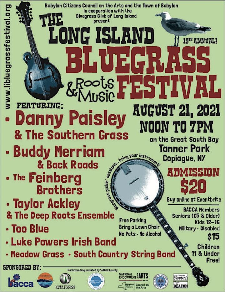 Long Island Bluegrass & Roots Music Festival 2021 image