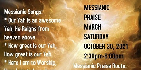 Messianic Praise March: Organized by Visionary John Henderson tickets