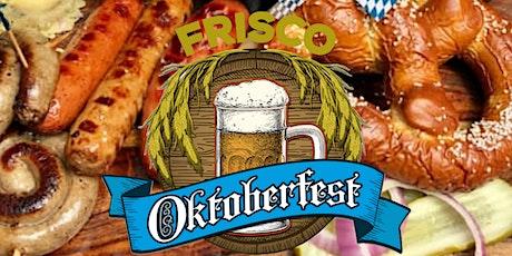 Frisco Oktoberfest tickets