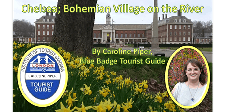 Walking tour of Chelsea (Part 1); bohemian village on the river tickets