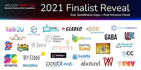 2021 Milken-Penn GSE EBPC Finalist Reveal (feat. Semifinalist Expo + Panel) tickets