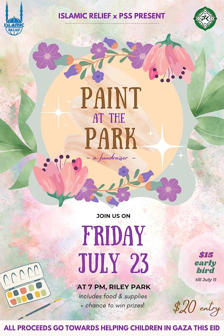 Paint at the Park: Eid Fundraiser image