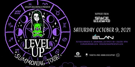 Level Up: Savannah Summoning Tour at Elan Savannah (Sat, Oct 9th) tickets