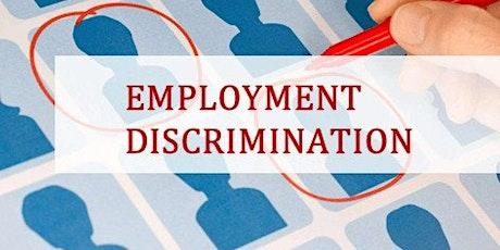 Employment Discrimination Basics tickets