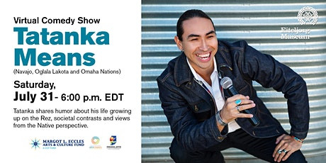 Tatanka Means Virtual Comedy Show tickets