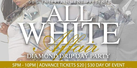 Diamond  Drip All  White Day Party tickets