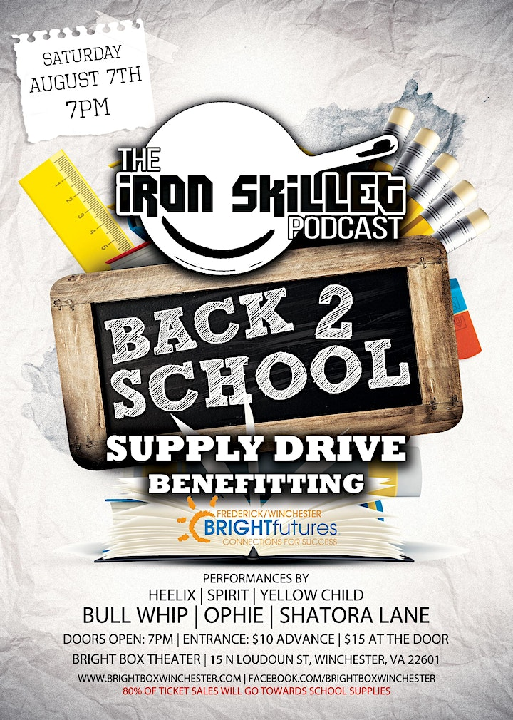 Back 2 School Benefit Show ft Bull Whip, Ophie, Shatora Lane, & more! image