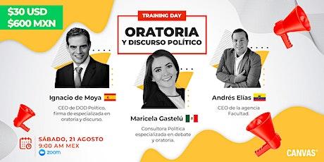 Training Day: Oratoria y Discurso Político entradas