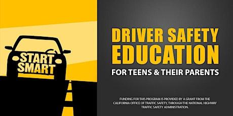 Start Smart - Teen Driver Safety Course (ZOOM) - Marin tickets