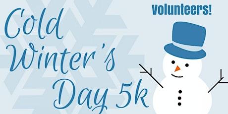 Volunteers:  2021 Cold Winter's Day 5k tickets