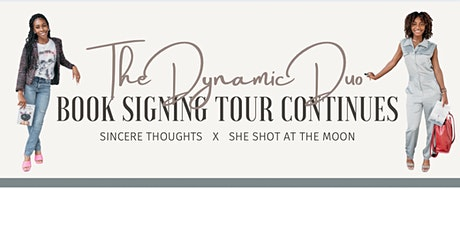 Dynamic Duo Book Signing tickets