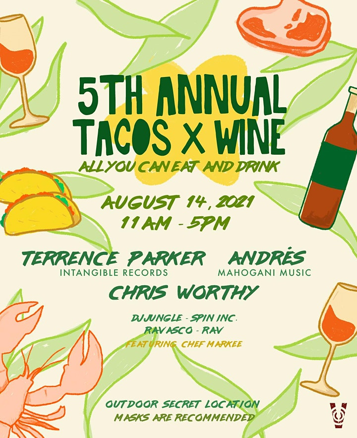 5th Annual Tacos x Wine image
