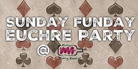Sunday Funday Euchre Party: September tickets