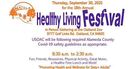 18th Annual Healthy Living Festival - Free In Person Event tickets