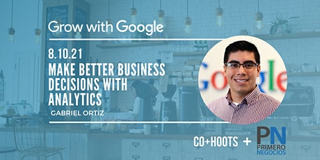 Make Better Business Decisions with Analytics tickets