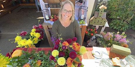Arrange Flowers with Heather at Swan Island Dahlias tickets