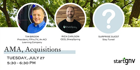 Ask Me Anything,  Acquisitions Panel tickets