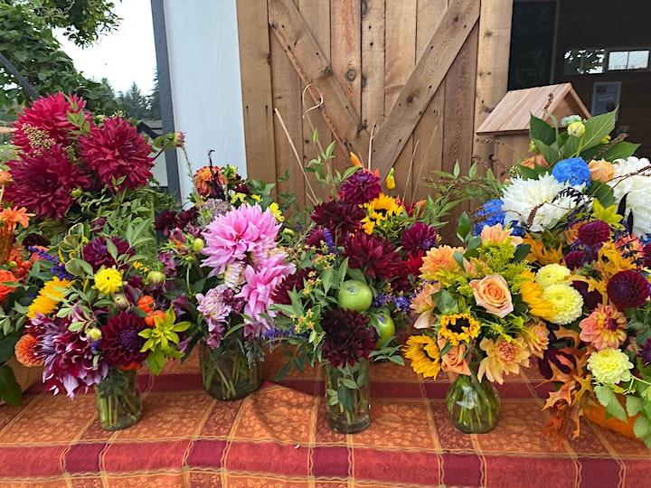 Arrange Flowers with Heather at Swan Island Dahlias image