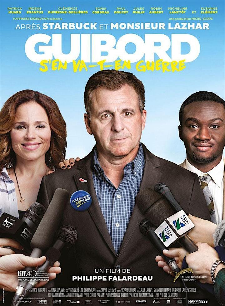 Cinema Franco : Guibord s'en va-t-en guerre (My internship in Canada) image