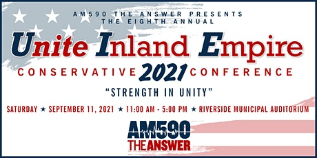 Unite IE Conservative Conference 2021 tickets