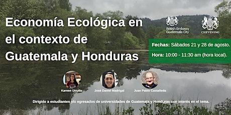 Economía Ecológica en el contexto de Guatemala y Honduras entradas