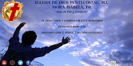Servicio de Adoración y Prédica entradas