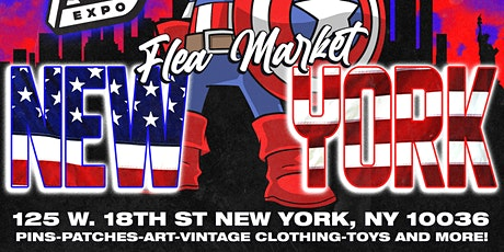 """Patches & Pins Expo NYC """"9/11 =20 Year Anniversary"""" tickets"""