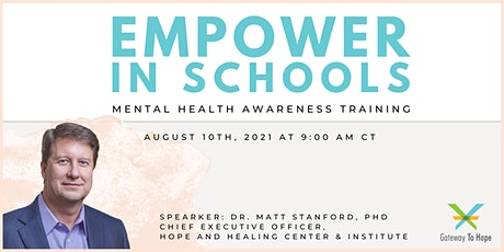 Empower in Schools: Mental Health Awareness Training for Educators tickets