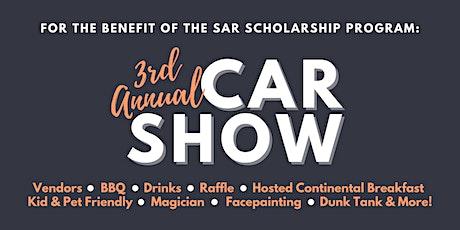 POSTPONED - 3rd Annual SAR Scholarship Car Show tickets