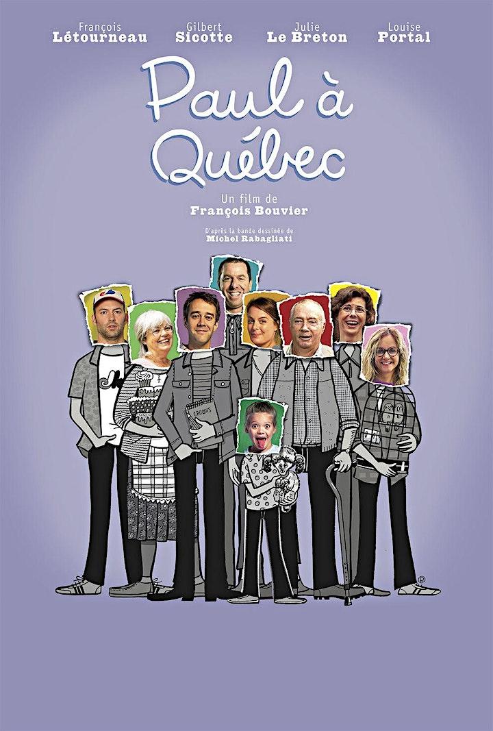 Cinema Franco : Paul à Quebec image