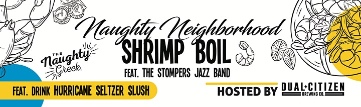 Naughty Neighborhood Shrimp Boil image