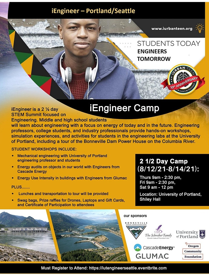 Be an Engineer - 2.5 Day Engineering Camp - Portland image