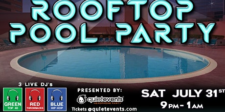 21+ Secret Rooftop Pool Party @ ShowBoat– Atlantic City tickets