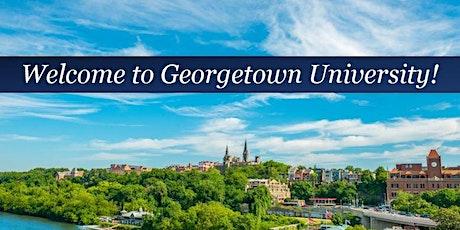 Georgetown University New Employee Orientation - Monday, August 9th biglietti