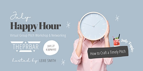 THEPRBAR Virtual Happy Hour - PR Workshop + Networking tickets