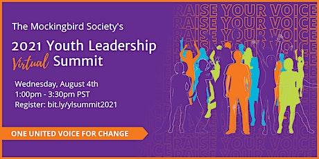 Virtual Youth Leadership Summit billets