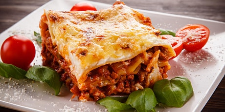 Free Virtual Cooking Class: Spicy Sicilian Lasagna tickets